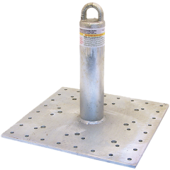 """Commercial Roof Anchor with 12"""" Riser"""