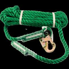 25' Single Hook Lifeline