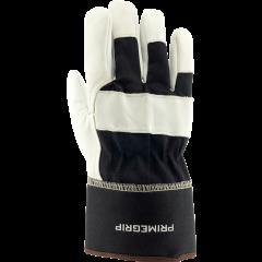 Groundhog Goat Leather Work Gloves - Medium