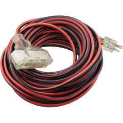 50' Triple Outlet Extension Cord - 16/3