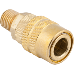 """1/4"""" Male M-Style Coupler"""