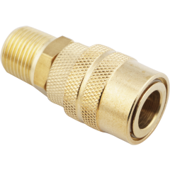 """3/8"""" Male M-Style Coupler"""
