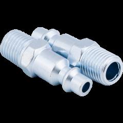 "1/4"" Male M-Style Plug - 2 Pack"